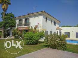 Lovely semi furnished 4 Bedroom villa with private pool,garden