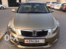 For Sale 2008 Honda Accord Bahrain Agency