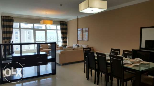 CITY VIEW 2 bedroom fully furnished apartment