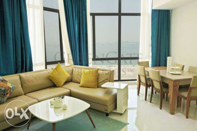 One Bedroom Apartment with Open Sea View