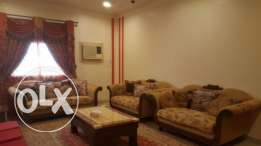 Saar:2bhk fully furnished flat available,close to macro mart