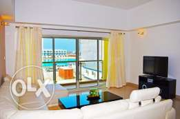 Sea View Modern Furnished 2 BR Apartment