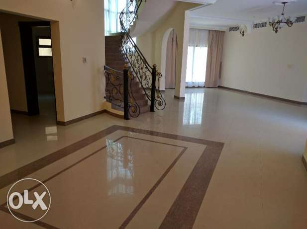 4 Bedroom semi furnished villa for rent with central ac,balcony