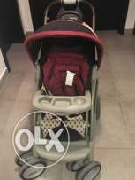 Stroller + Baby car seat for sale