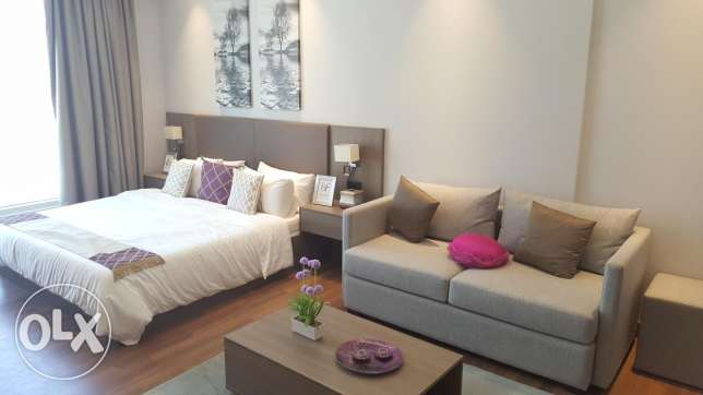 Wonderful studio apartment in Sanabis with services & facilities