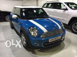 Mini Cooper 2013 Only 5000 Km 1 year warranty