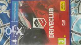 Drive club for sale (ps4)