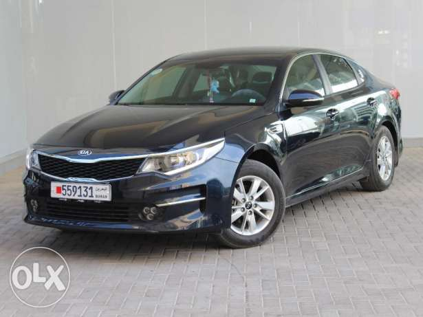 KIA Optima 2.0L Low 2016 Black For Sale