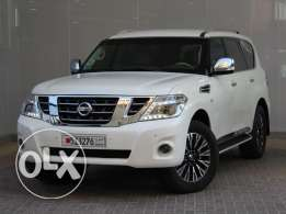NISSAN PATROL 2014 white For Sale