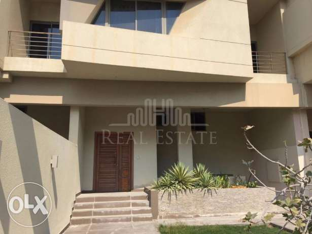 Semi furnished 3 storey villa with a stunning sea view.