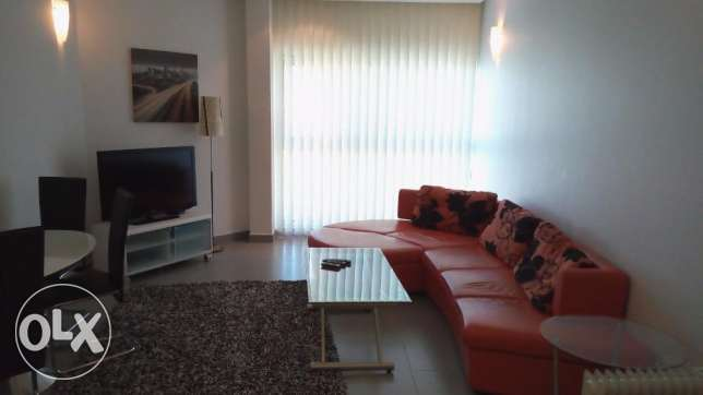 Sea View 1 Bed Rooms Fully Furnished Apartment in Amwaj