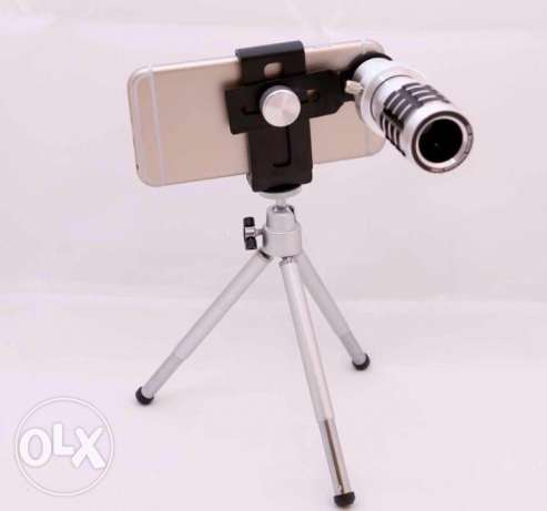 phone 12x Zoom optical Telescope Camera telephoto Lens