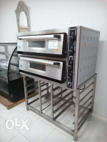 Heavy duty Double deck pizza oven Electric