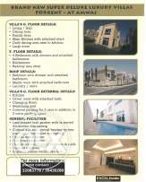 4 Bedroom LUXURY Villa in Amwaj LUXURY Living at SEA