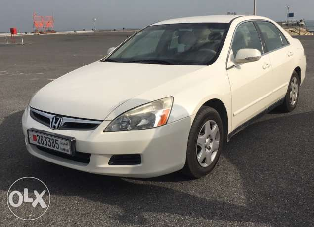 handa accord 2007 one owner low mileage