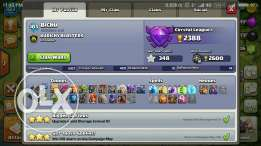 Clash of Clans maxed lvl 9 account on updation