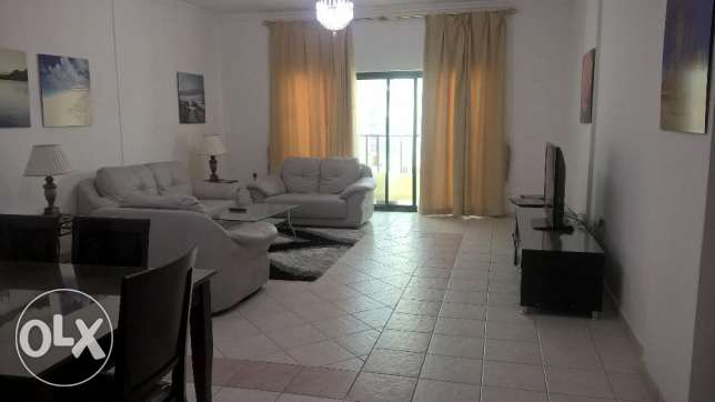 2 bedroom fully furnished flat with balcony