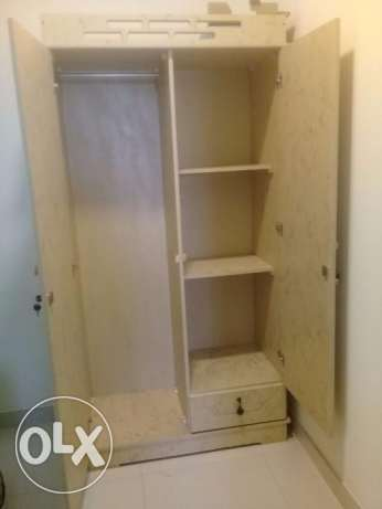 Bed, Mattress & Cupboard For Sale
