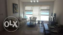 2br (sea view) flat for rent in amwaj island stylish design.