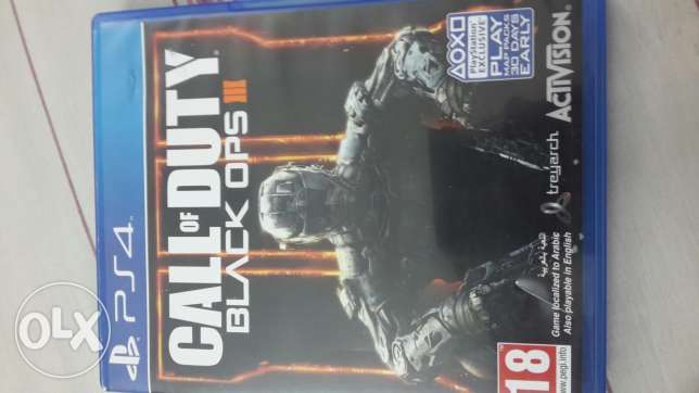Call of duty black ops 3 ps4. For sale 9 BD.