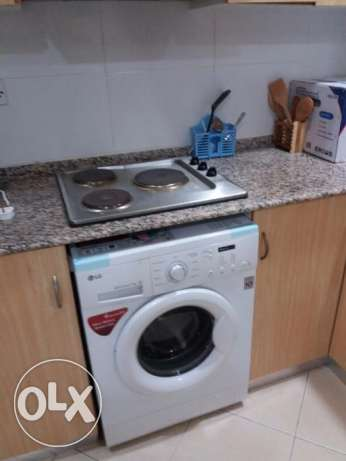 2 bedroom fully furnished apartment in janabiya for 350/inclusive