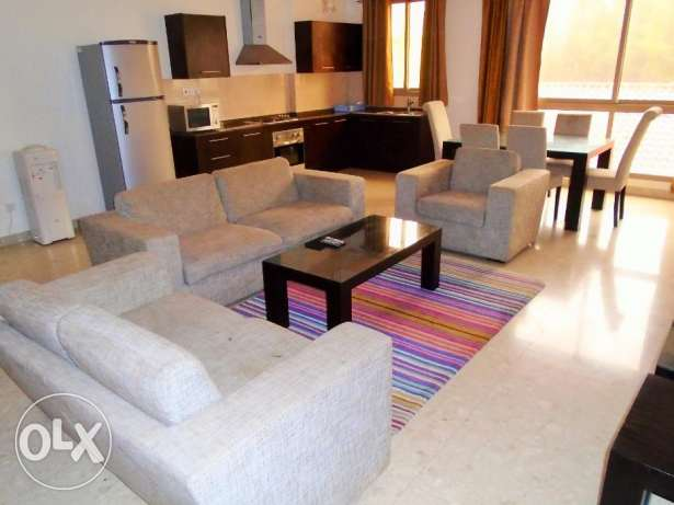 Apartment for rent 2 bedroom f-furnished in Adliya