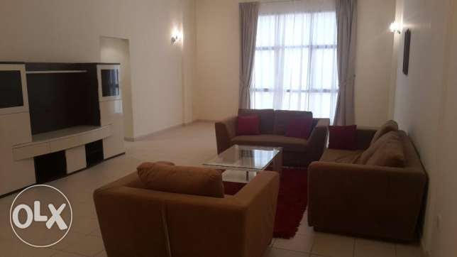 New Sanabis nice 3 BR flat for rent near Seef