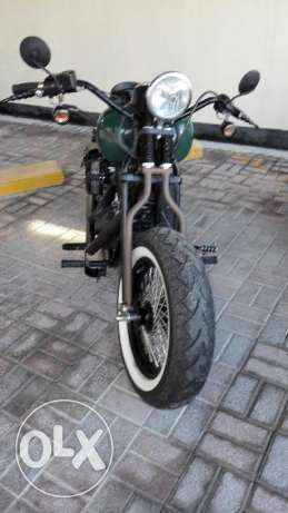 First BD 2,700 takes custom 2009 Harley Dyna