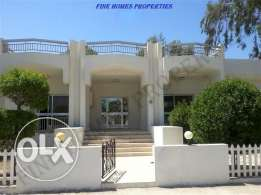semi furnished villa for rent