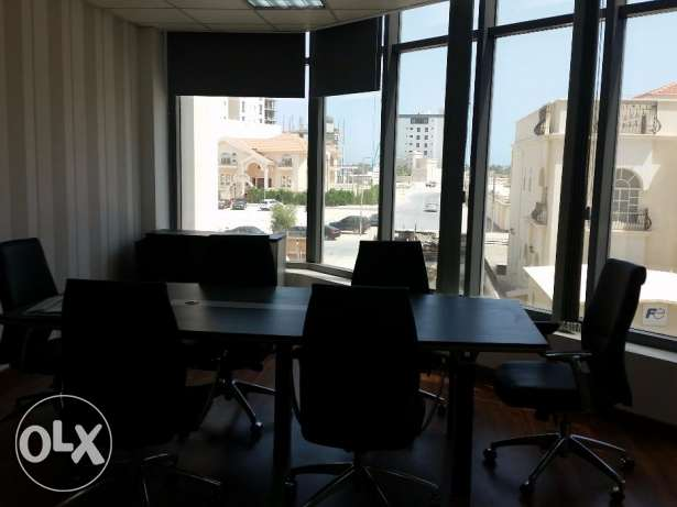 Spacious office with nice city view available in Seef ready to occupy