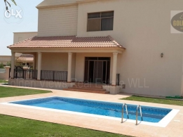 4 Bedroom semi furnished villa for rent in Hamala close to