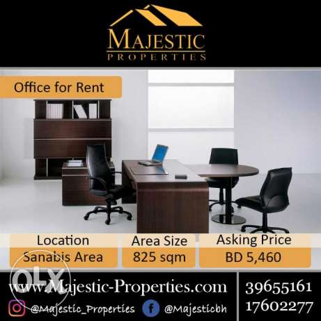 For Rent: Luxury Office in Sanabis Area, Ref: MPM0083