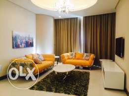 Two bedrooms modern apartment in Seef area.