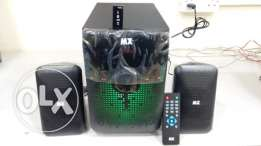 New 2.1 Channel USB/AUX BASS Music System Boxpack