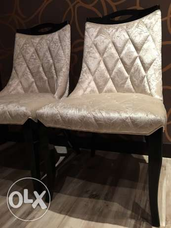 Very Stylish & Modern Chairs (Pair) - Brand New - Negotiable