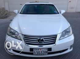 For Sale 2012 Lexus ES350 Single Owner Bahrain Agency