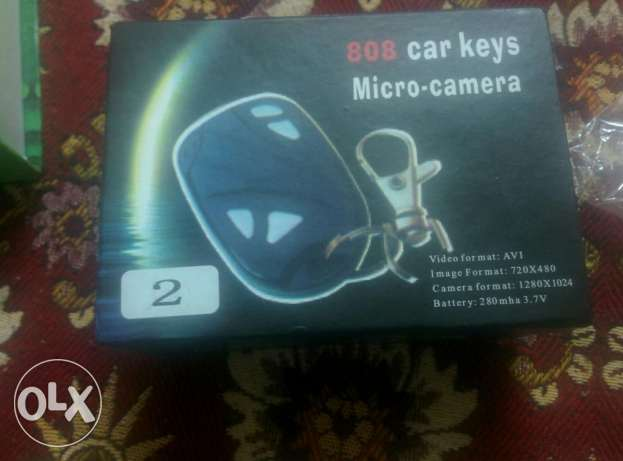 Car keys micro camera and pen camera