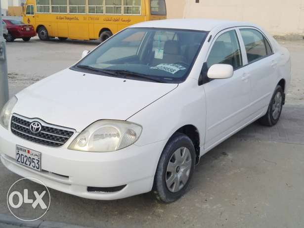 For sale toyota corolla 2002