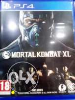 Mortal combat XL new ps4 game