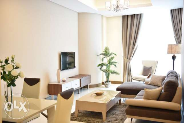 Luxury fully furnished 1 bedroom apartment