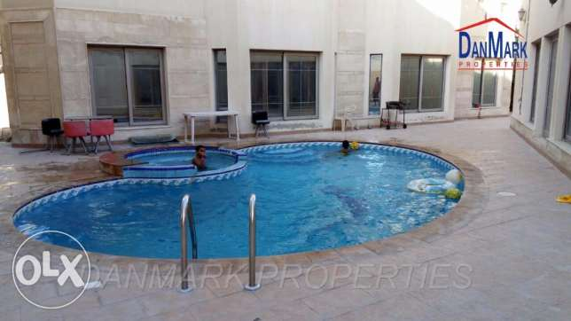 4 Bedroom Fully Furnished 2 storey Compound Villa for rent in HIDD المنامة -  1