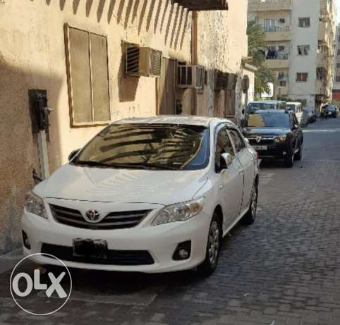 Toyota corolla 2013 XLI fully loaded