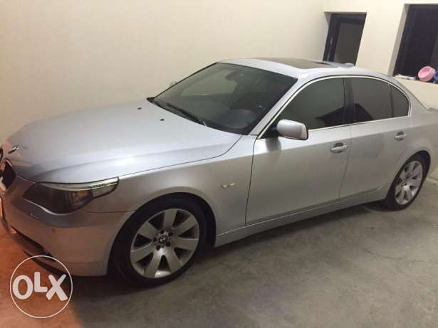 530i with low mileage 50,000 KM, NO accidents