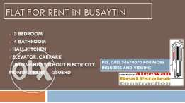 Flat for rent in Busaytin