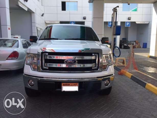 Ford F150 Xlt 2013 White colour for Sale