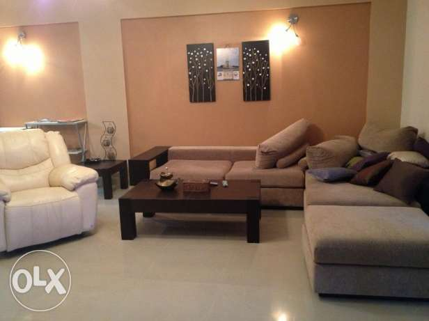 2 Bed rooms apartment decant furniture fully furnished (TALA ISLAND)