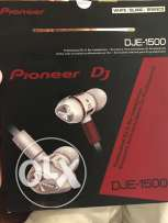 pioneer DJ in ear headphones DJE-1500
