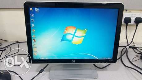 "HP 19"" wide LCD MONITOR DVI/multimedia"
