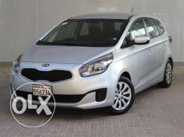Kia CARENS 2015 Silver For Sale