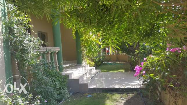 MODERN SINGLE Story Semi Furnished 4 BRs VILLA for Rent in SAAR